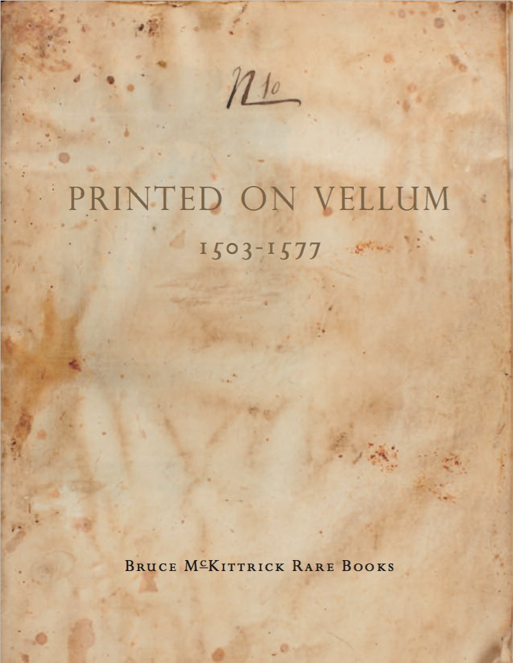 Printed on Vellum 1503-1577